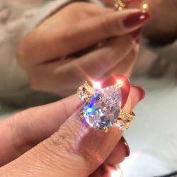Eternity Pear Cut Bridal Set