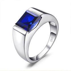 Blue Stone Men's Ring
