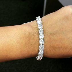 Round Cut Tennise Bracelet