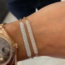 Fashion Round Cut Bracelets