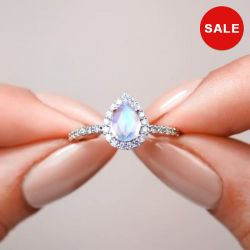 1.75 CT Eternity Flower  Princess Cut Pink Ring