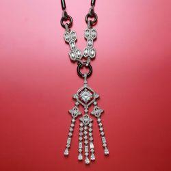 Special Design Radiant Cut Necklace